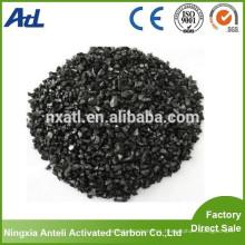 Carbón activado a base de yodo Carbón 300 mg / g de malla tamaño 6x16