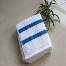 100% βαμβακερό ξενοδοχείο βαμβακερό χρωματιστό πετσέτα