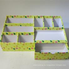 Organizador de escritorio de papel de impresión multifuncional con cajón