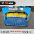 Machine à toiture en tôle ondulée Dixin Galvanized Steel Type
