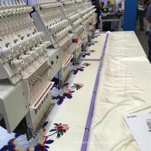 Máquina comercial del bordado del casquillo de la producción en masa Wy906c / Wy1206c