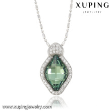 32792-xuping fashion jewelry Crystals from Swarovski, green crystal stone pendants