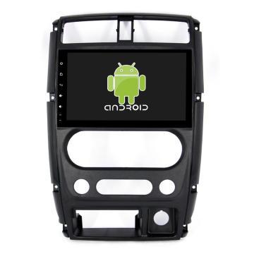 Núcleo Octa! Dvd do carro do andróide 8,1 para Jimny com a tela capacitiva de 9 polegadas / GPS / relação do espelho / DVR / TPMS / OBD2 / WIFI / 4G