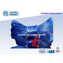 UHMWPE Sk75 Blue Winch Rope