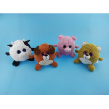 Cute Ball Shape Pets Toy Cow