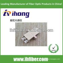 Fibra Óptica LC metal duplex Adaptador com bom preço e alta qualidade final