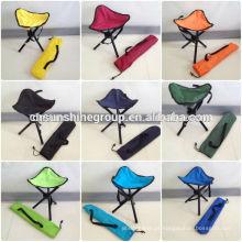 Portátil perna três triângulo pesca stool cadeira com livre caso dobradura
