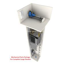 4: 1 Mechanisches Teilepaket für Frachtaufzüge