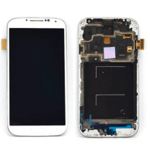 Good Quality Mobile Phone Screen for Samsung S4 I9500 with LCD Frame Complete