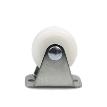 1.25 inch light-duty plate rigid PP casters
