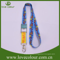 Transferencia de calor personalizada personalizada impresa accesorios accesorio cordón para el festival