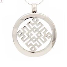 Уникальный ожерелье с кулон монета,монета держатель подвеска ожерелье