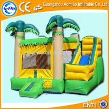 Los niños juego bouncers combo inflables, castillo hinchable inflable de alta calidad para la venta