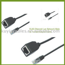 RJ45 Male to Female Cable Ethernet Lan Network Adapter Cable