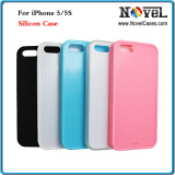 2D Sublimation Silicone Mobile/Cell Phone Case for iPhone5/5s