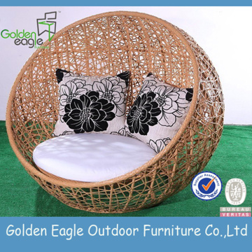 Garden Furniture Rattan Color Sectional Beach Chair