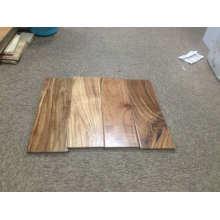 Acabado brillante de tablones anchos Suelo de madera de acacia