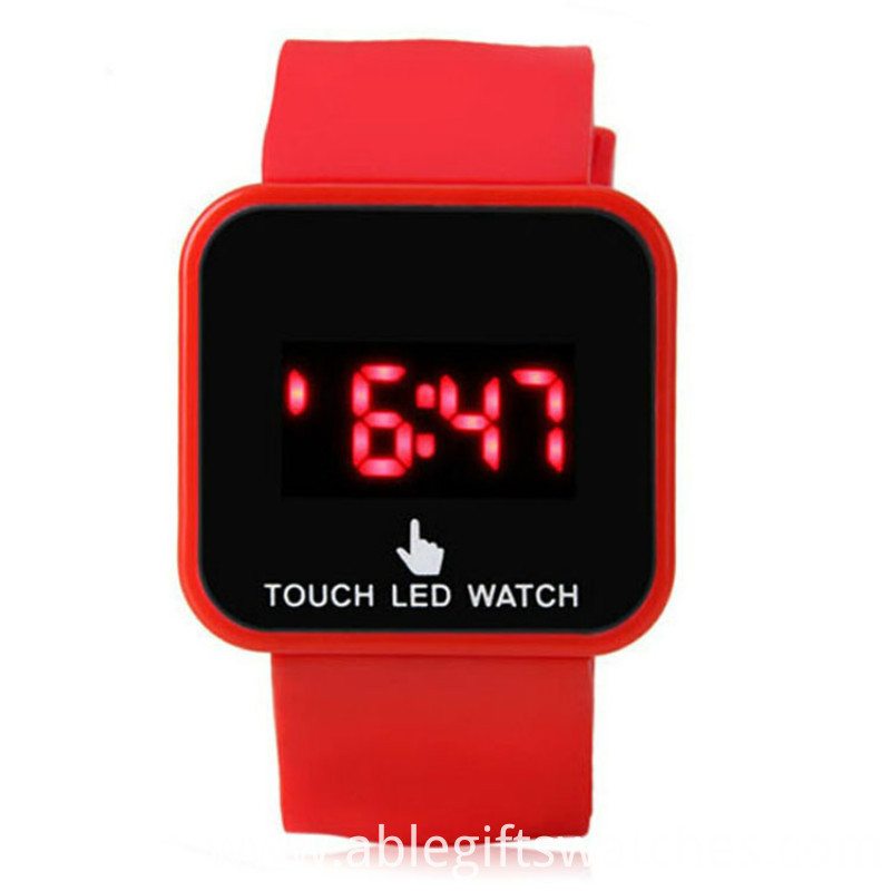 unisex silicone les watch