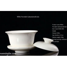 Weiß Keramik Gaiwan (klein)
