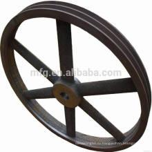 Профессиональное изготовленное на заказ большое колесо шкива с высоким качеством сделано в фарфоре