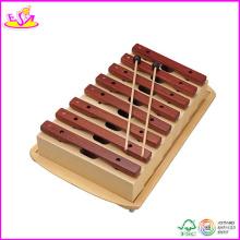 2014 neues hölzernes Xylophone-Spielzeug, populäres Kinderxylophon-Spielzeug und heißes Verkaufs-Xylophon-musikalisches Perkussions-Spielzeug W07c026