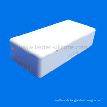 ABS White Plastic Waterproof Hearing Aid Case