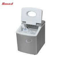 Uso doméstico portátil mini cubo de hielo que hace la máquina