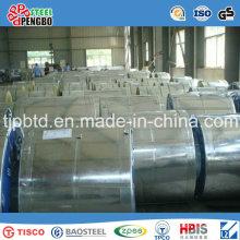 Bobine en acier galvanisée (SGCC, DX51D, ASTM A653)