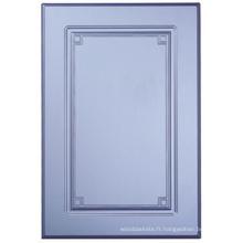 Porte de placard de cuisine de PVC (HLPVC-18)