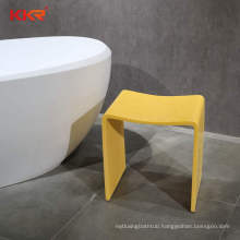 KKR customize bath chair shower Toilet stool Chair seat artificial stone solid surface shower seat
