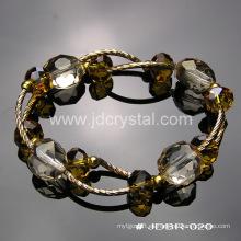 Pulsera de cristal más populares de joyería de moda