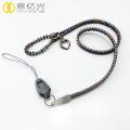 Customized fashion zipper lanyard for phone holder