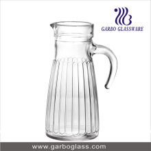 1L Glass Water Jug with Handle