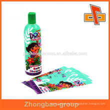 China supplier bottle shrink wrap sleeves for cosmetic packaging