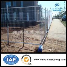 Clôture professionnelle de clôture portable Anping pour la construction