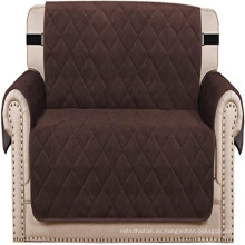 Fundas protectoras acolchadas de terciopelo grueso para sofá de dos plazas Funda de felpa para sofá de dos plazas Funda de cojín para sofá de dos plazas