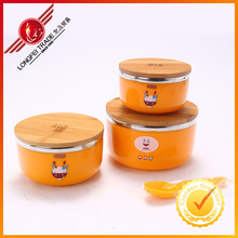 High Quality PP Material Bowls with Ss Inner