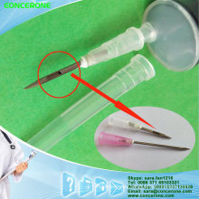 Disposable Drug Dissolving Syringe 20ml with Special Needle