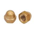 Brass Hexagon Acorn Nut