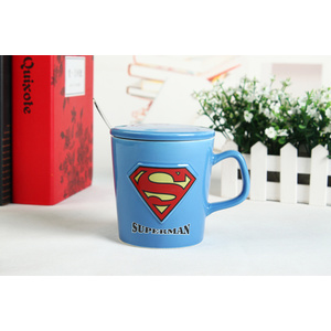Decorative Cartoon Milk Ceramic Mug