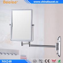 Espejo cosmético de salón de aumento fijo en la pared