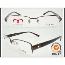 Metal gafas para unisex moda caliente vendiendo gafas de lectura (wrm410005)