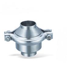 304 ou 316L Válvula de retenção sanitária de aço inoxidável