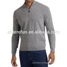 fábrica personaliza muchos estilos prendas de punto de cachemira 100% puro para hombres
