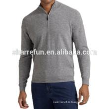 Usine personnaliser de nombreux styles 100% pur tricot en cachemire pour les hommes