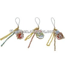 various design mobile phone hanging accessories