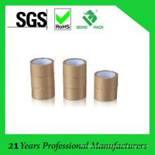 100% Virgin Wood Pulp Ribbed Brown Kraft Paper Rolls Tape