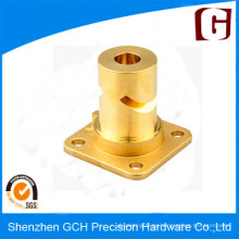 OEM / ODM CNC de cobre amarillo de mecanizado / torneado / proveedor de molienda en China