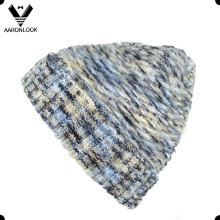 2016 унисекс пользовательских зимняя мода трикотажные шапки