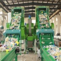 PET Bottle Washing Suction Plastic Recycling Machine